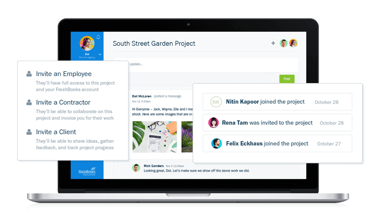 Seamlessly Collaborate on Projects